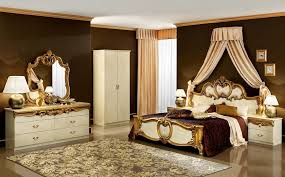 gold bedroom furniture barocco ivory with gold bedroom set