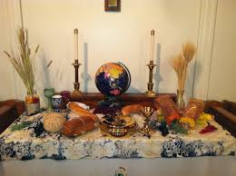 communion decorations for tables world communion sunday at christ umc worship pinterest