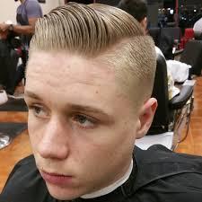 haircut styles longer on sides shorter in back men s hair haircuts fade haircuts short medium long buzzed