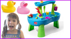 step 2 rain showers splash pond water table peanut plays step 2 rain showers splash pond water table playset