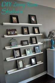Diy Living Room by Right Where We Are Diy Shelving For Picture Frames