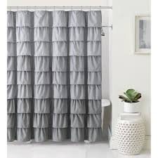 Gray And Teal Curtains Curtain Shower Curtain Liner Silver Shower Curtain Fabric Shower