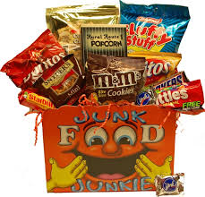 junk food gift baskets a one of a gift albany ny gift baskets candy snacks gift