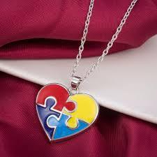 skyrim pendant necklace images Skyrim enamel heart shaped autism awareness puzzle piece autistic pend jpg