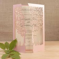 Blush Wedding Invitations Wedding Invitations Cartalia