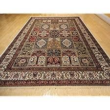 amazon com silk traditional turkish design rug 5x7 rugs silk 5x8