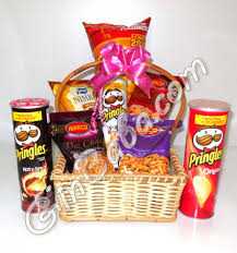 send saltish gift basket gift to pakistan food combination