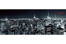 mural night view new york maxi size wall mural night view new york maxi size