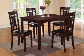 Wood Dining Chairs Brown Wood Dining Table And Chair Set Steal A Sofa Furniture