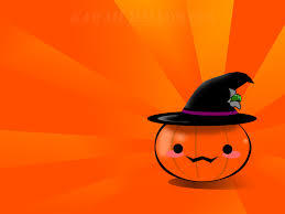 orange black halloween background kawaii japanese halloween wallpapers kawaii japanese halloween