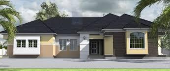 4 Bed House Plans Fascinating 4 Bedroom Bungalow House Plans In Nigeria Verge Hub 4