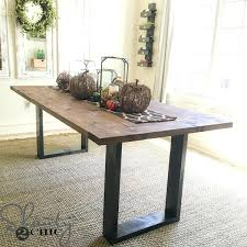 how to build a dining room table with leaves how to build a rustic dining table dining table diy rustic dining