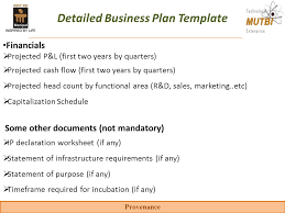 key components of the business plan ppt video online download