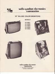 arcade video game crt monitor service manuals aceamusements us