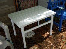 Pvc Patio Table Hey I M Not The Only One Who Builds Stuff With Pvc Lol This