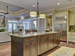 small kitchen with island ideas kitchen room brown wooden kitchen island storage brown granite