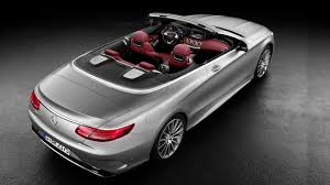 convertible mercedes the most luxurious convertible u2013 mercedes benz s class cabriolet