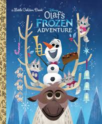 olaf s frozen adventure golden book disney frozen by