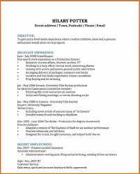 Film Crew Resume 8 Cv Examples For Students Budget Template Letter