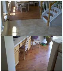 how to install laminate flooring concrete