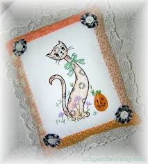 halloween pillows decorations kitty and me designs decorative embroidered pillows for fall and