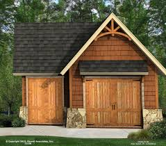 cottage house plans detached garage