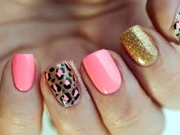 45 stylish leopard prints nail art to stand in vogue nail art