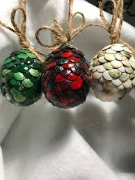 game of thrones inspired dragon egg ornaments perfect decoration