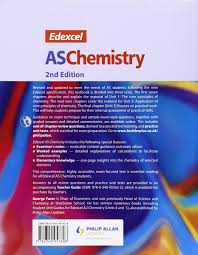 edexcel as chemistry textbook 2nd edition amazon co uk george