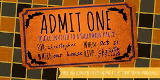 free halloween party movie ticket printable u2013 frugalful
