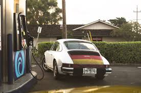 The Germany Flag Sweet Porsche At The Gas Station Check Out The German Flag Paint
