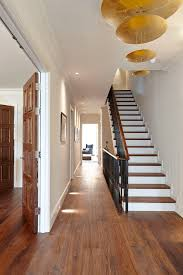 hall and stairs lighting berkshire baseboard lighting staircase contemporary with metal