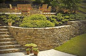 Retaining Wall Patio Crescent Dc Backyard Landscaping Patio Retaining Wall