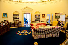 my trip to the oval office