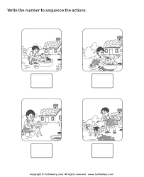 preschool sequencing worksheets worksheets