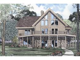 Aframe House Plans by Tahoe Ridge A Frame Log Home Plan 073d 0011 House Plans And More