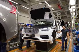 volvo truck manufacturing plants volvo cars selects south carolina for its first american factory