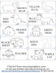 free preschool activities brown bear activity