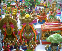 Decoration For Navratri At Home How To Perform Navratri Puja At Home Kolam By Sudha Balaji