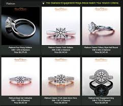preset engagement rings how to select the engagement ring in 5 minutes