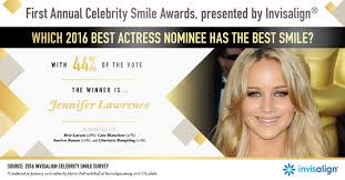 invisalign commercial actress oscars celebrity smile awards giveaway whoorl