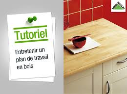 Plan De Table En Bois by Comment Entretenir Un Plan De Travail En Bois Leroy Merlin Youtube