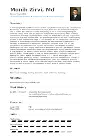 Physician Resume Examples by Dermatologist Resume Samples Visualcv Resume Samples Database