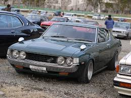 top toyota cars 1973 toyota celica gt my first car but butterscotch with white top