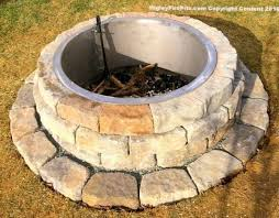 Firepit Inserts Pit Block Steel Liners Steel Pit Ring Liners Higley Metals