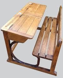 bureau ecolier 1 place bureau ecolier bois 2 places en a bureau decolier ancien en bois 1