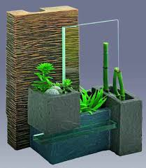 fluval edge zen ornament bamboo wall with plant holders