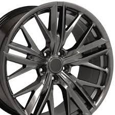 camaro zl1 for sale ebay 20x8 5 20x9 5 hyper black 5th camaro zl1 wheels set of 4 rims
