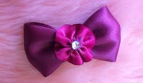 ribbon hair clip diy how to make a and simple ribbon bow hair clip