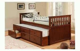 Full Size Beds With Trundle Bedroom Full Size Captains Bed With Trundle Twin Size Captains